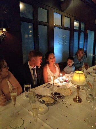 WEDDING RECEPTION DINNER CELEBRATING THE UNION OF AUSTIN RYAN & JOSELYN MARTINEZ