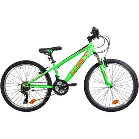 "Bicicleta infantil BTT WST Snipper 24"" 21 velocidades. Envío gratuito en 24/48h. https://lapedaleria.es/bicicleta-mtb-wst-sniper-24-pulgadas-21-velocidades/"