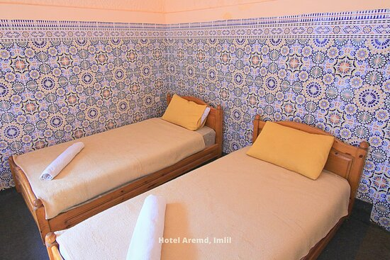 Family Quadruple Rooms in Hotel Aremd , Armed Hotel Atlas Mountains