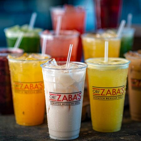 Refreshing Agua Fresca and Horchata. We have fountain drinks, Starbucks coffee, tea and bottled water too.