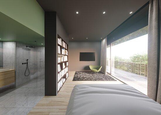 Chambre & sa Salle d'Eau - Appartement Penthouse