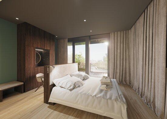 Chambre Parentale - Appartement Penthouse