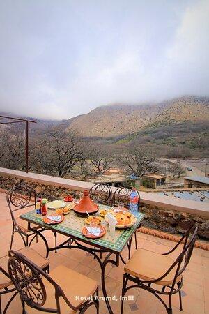 Hotel Aremd , Imlil, Morocco (Atlas Mountains Hotel) - Aroumd