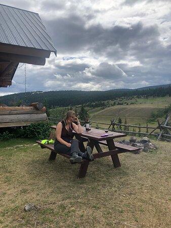 Private picnic table