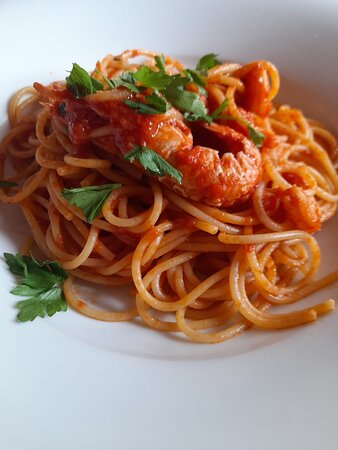 Spaghetti alla Busera