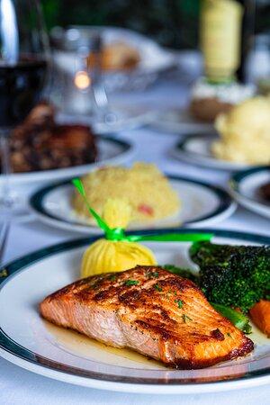 Our tasty Filet of Salmon