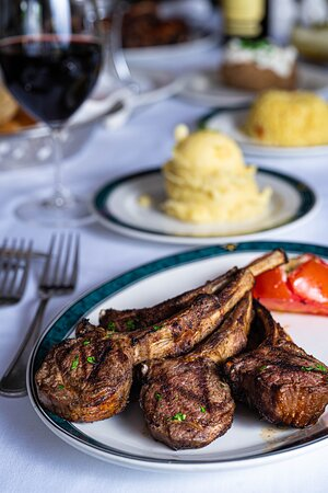 Our broiled and tender Lamb Chops