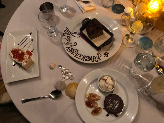 Lovely Dessert and table set up