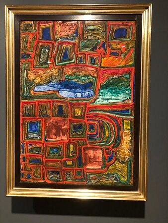 En fantastik Hundertwasserutställning