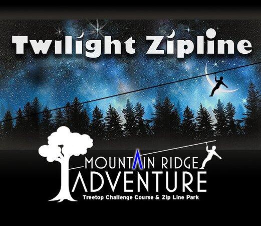 Night Zipping at Mountain Ridge Adventure