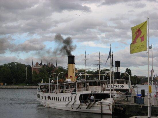 Estocolmo, Suecia: Stockholm, Stem Ship Blidosund