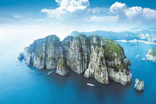Day trip to the beautiful Korean marine national park, Hallyeohaesang.