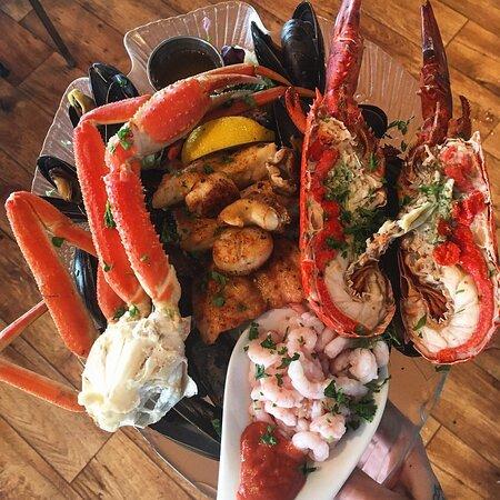 Voici une autre assiette du Pêcheur!