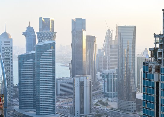 Stunning views From Crowne Plaza Doha West Bay