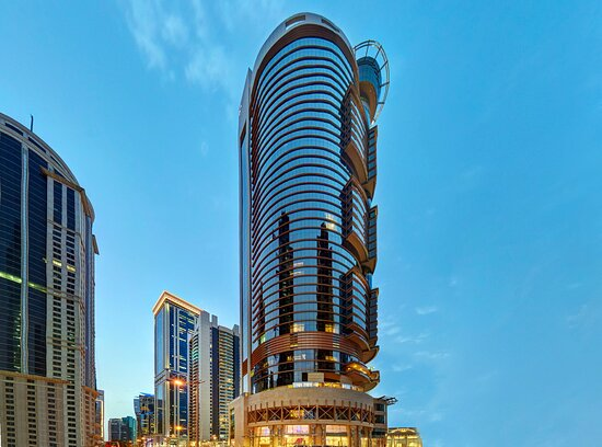 Hotel Exterior of Crowne Plaza Doha West Bay