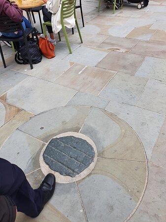 Sanctuary Stone along Castle Street