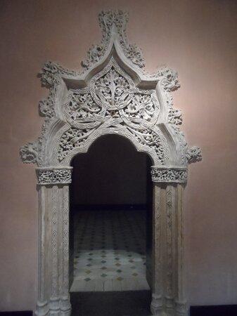 Portal interior decorado