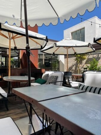 Lovely patio deck on second floor
