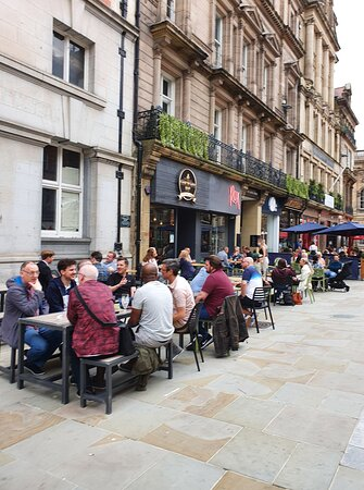 Sanctuary Tap in Liverpool Buisness District