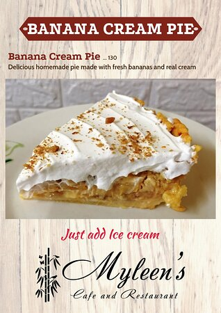 Come try our new Banana Cream Pie.