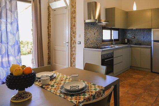 cucina appartamento glicine