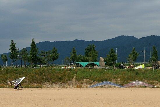 하동 평사리공원 전경
