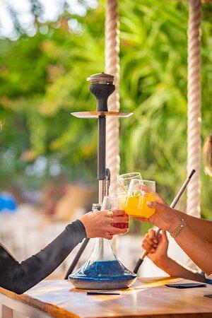 cocktails, shisha Malia, Crete