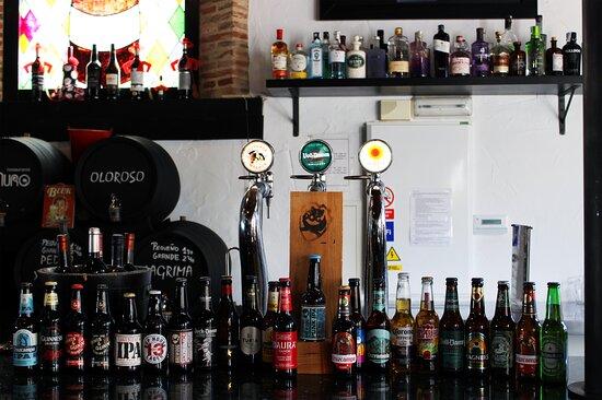 Beer selection - Selección de cervezas