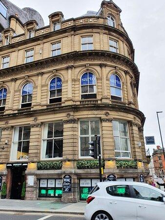Harrison's Bar & Kitchen along Victoria Street.