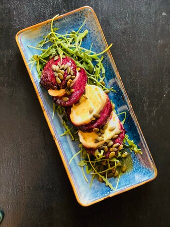"""""""Tsvekleze"""" salad with buffalo mozzarella :)))"""