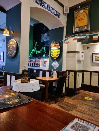 Molly Malones Pub along Victoria Street.