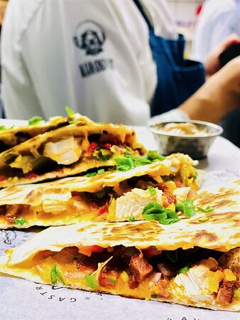 Beyond the hills with a quesadilla