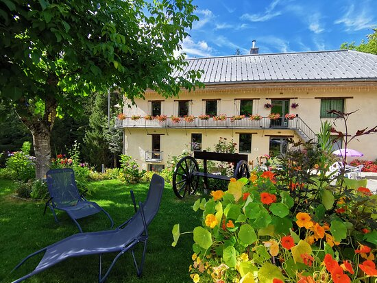 Terrasse JORASSE - Picture of Le Moulin des Olirics, Cordon - Tripadvisor