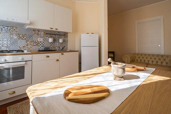 "Cucina e sala da pranzo appartamento ""Partenope"""
