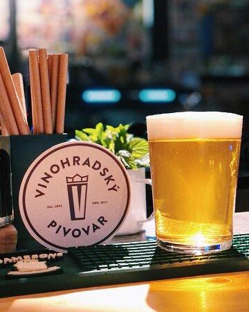 We have Vinohradsky Pivovar!