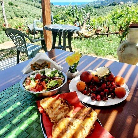 Pranzo alla bella vista delBelvedere