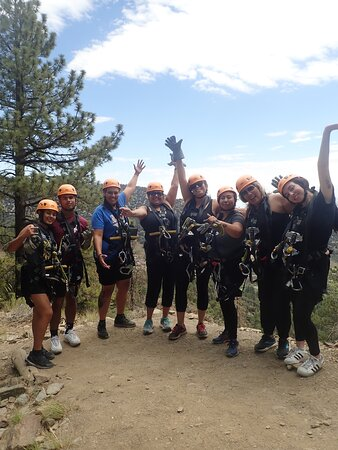 Private groups are the best. Celebrated my birthday with a ziplining adventure. Had a great time!!