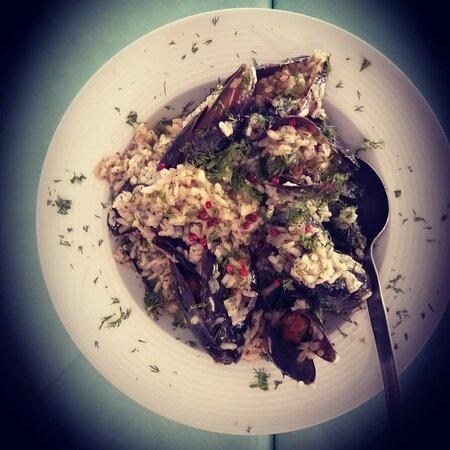 Mussel pilaf!!!