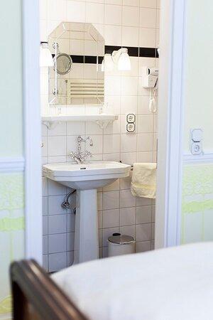 Eingang zu einem Badezimmer