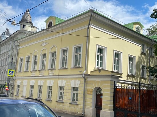 The Main House of the City Estate of  S.G. Popov - P.D. Yelagin
