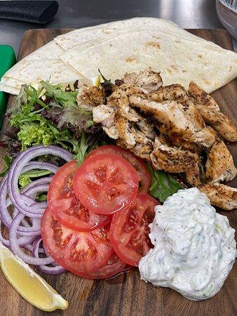 Chicken Souvlaki - It's all Greek to me