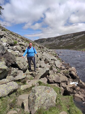 the last couple of kms before you reach Cauldron Snout are an unexpected scramble! The path disappears in places for a good couple of kilometers and you have to make your own way across large boulders/rocks.