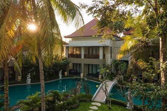 Located in Ubud, Bali