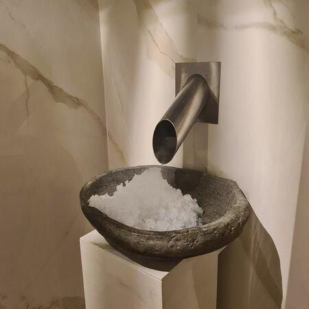 De spa faciliteiten
