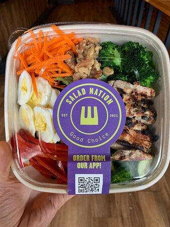 Custom SaladNation Salad