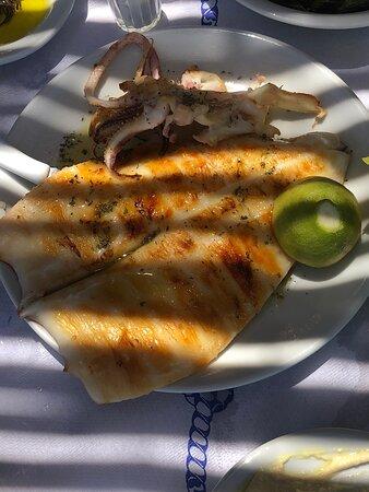 Обед на берегу морч
