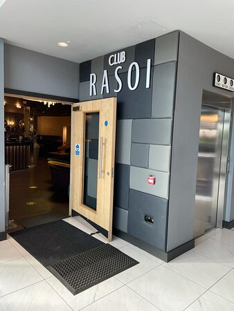 Club Rasoi entrance