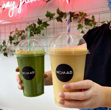 Green machine & gratitude smoothie