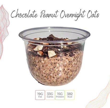 overnight oats. Vegan and gluten free