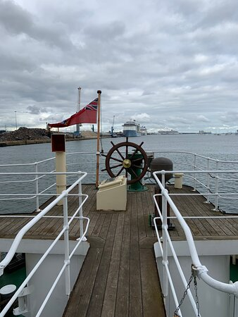 SS Shieldhall a fabulous experience and day out